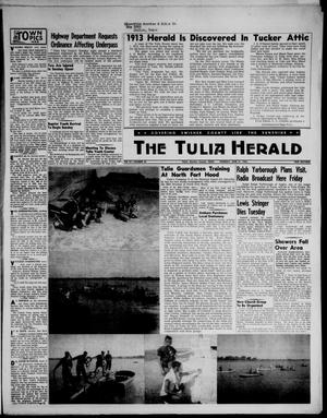 Primary view of object titled 'The Tulia Herald (Tulia, Tex), Vol. 47, No. 25, Ed. 1, Thursday, June 21, 1956'.