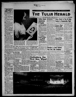 Primary view of object titled 'The Tulia Herald (Tulia, Tex), Vol. 47, No. 22, Ed. 1, Thursday, June 7, 1956'.