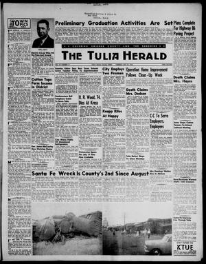 Primary view of object titled 'The Tulia Herald (Tulia, Tex), Vol. 47, No. 21, Ed. 1, Thursday, May 24, 1956'.