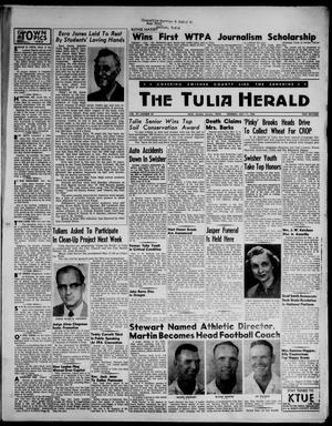 The Tulia Herald (Tulia, Tex), Vol. 47, No. 20, Ed. 1, Thursday, May 17, 1956