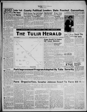 Primary view of object titled 'The Tulia Herald (Tulia, Tex), Vol. 47, No. 17, Ed. 1, Thursday, April 26, 1956'.