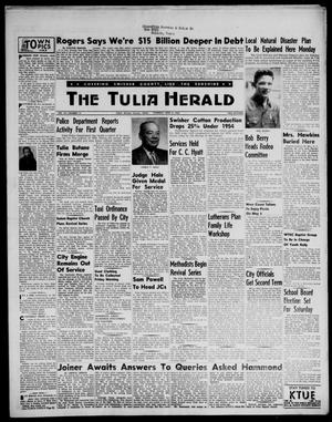 Primary view of object titled 'The Tulia Herald (Tulia, Tex), Vol. 47, No. 14, Ed. 1, Thursday, April 5, 1956'.