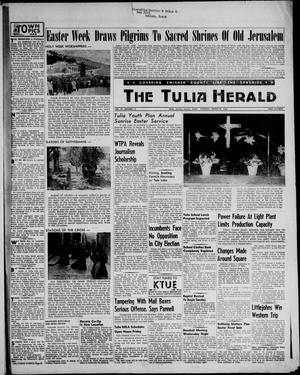 Primary view of object titled 'The Tulia Herald (Tulia, Tex), Vol. 47, No. 13, Ed. 1, Thursday, March 29, 1956'.