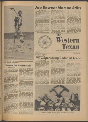 The Western Texan (Snyder, Tex.), Vol. 9, No. 12, Ed. 1 Friday, April 25, 1980