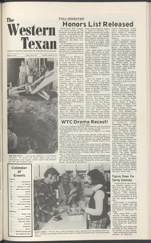 The Western Texan (Snyder, Tex.), Vol. 5, No. 9, Ed. 1 Thursday, January 22, 1976