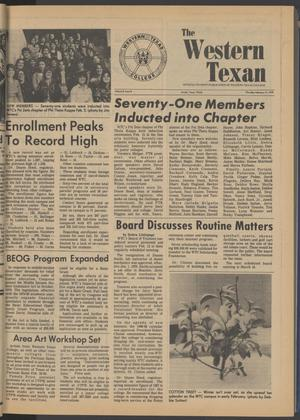 Primary view of object titled 'The Western Texan (Snyder, Tex.), Vol. 8, No. 8, Ed. 1 Thursday, February 15, 1979'.