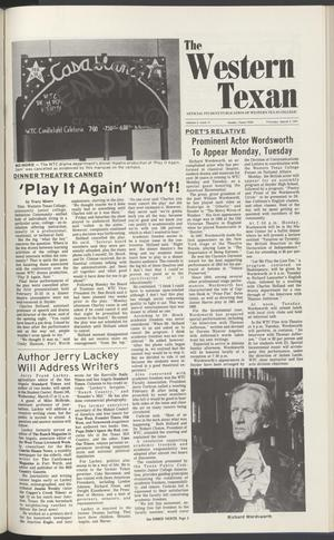 The Western Texan (Snyder, Tex.), Vol. 5, No. 12, Ed. 1 Thursday, March 4, 1976