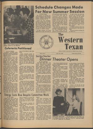 The Western Texan (Snyder, Tex.), Vol. 9, No. 9, Ed. 1 Thursday, February 28, 1980