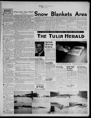 Primary view of object titled 'The Tulia Herald (Tulia, Tex), Vol. 47, No. 6, Ed. 1, Thursday, February 9, 1956'.