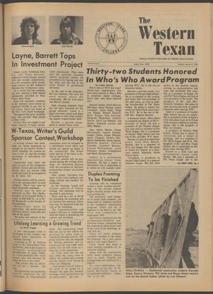 The Western Texan (Snyder, Tex.), Vol. 9, No. 7, Ed. 1 Thursday, January 31, 1980