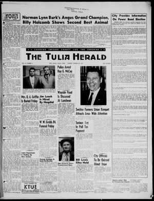 Primary view of object titled 'The Tulia Herald (Tulia, Tex), Vol. 47, No. 4, Ed. 1, Thursday, January 26, 1956'.