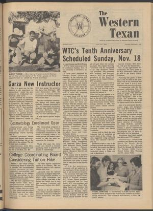 The Western Texan (Snyder, Tex.), Vol. 9, No. 4, Ed. 1 Thursday, November 8, 1979