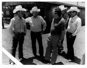 Primary view of object titled 'Cowboys at the Waggoner Ranch, 1983'.