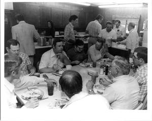 Cowboys Eating at the Waggoner Ranch, 1983