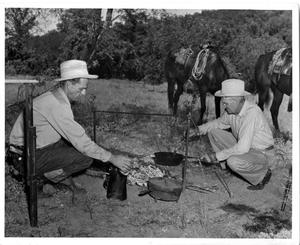 Primary view of object titled 'Cooking Breakfast on the Range'.