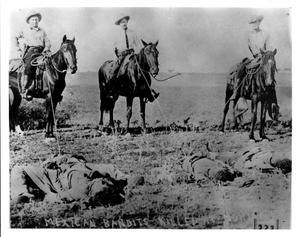 Primary view of object titled 'Dead Mexican Bandits'.