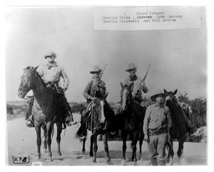 Primary view of object titled 'Texas Rangers'.