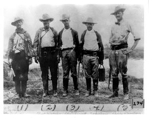 Primary view of object titled 'Texas Rangers in 1915'.