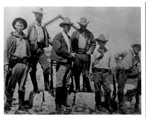 Primary view of object titled 'Unidentified Texas Rangers'.
