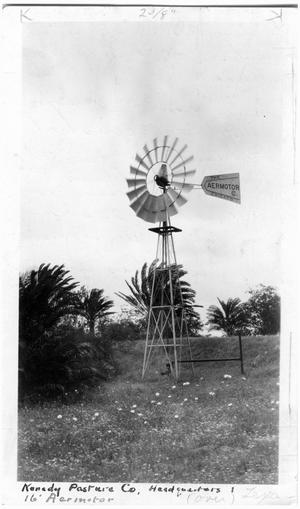 Primary view of object titled '16 Foot Aermotor Windmill'.