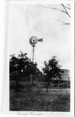 Primary view of object titled 'Aermotor Windmills on the King Ranch'.