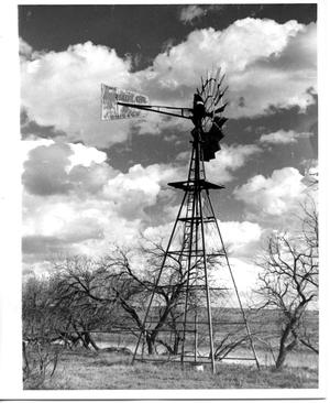Primary view of object titled 'An Aermotor Windmill'.