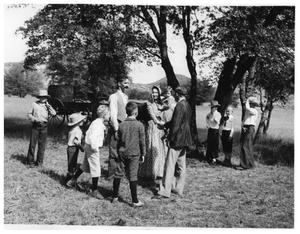 Primary view of object titled 'Bloys Camp Meeting in 1900s'.