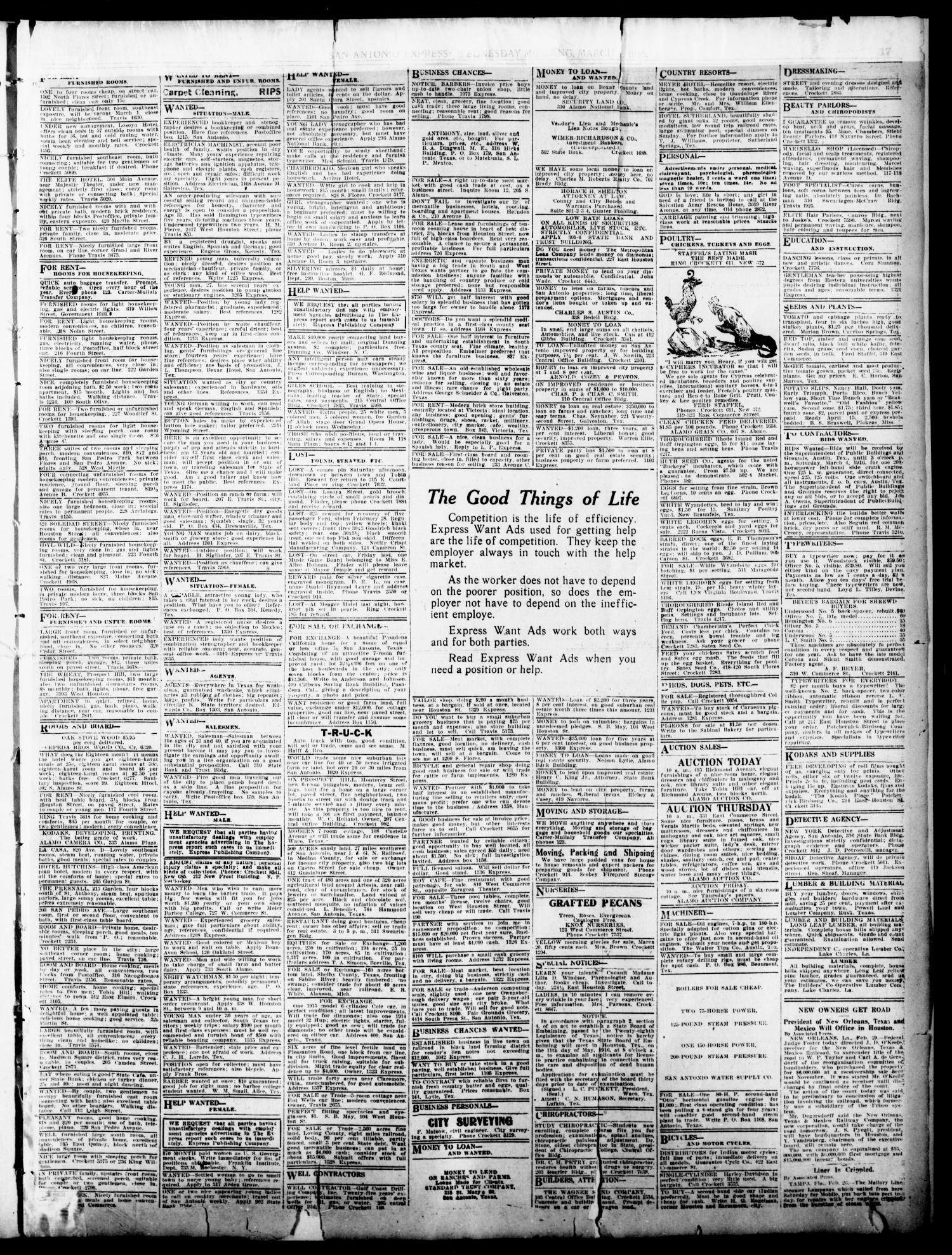 San Antonio Express  (San Antonio, Tex ), Vol  51, No  61, Ed  1