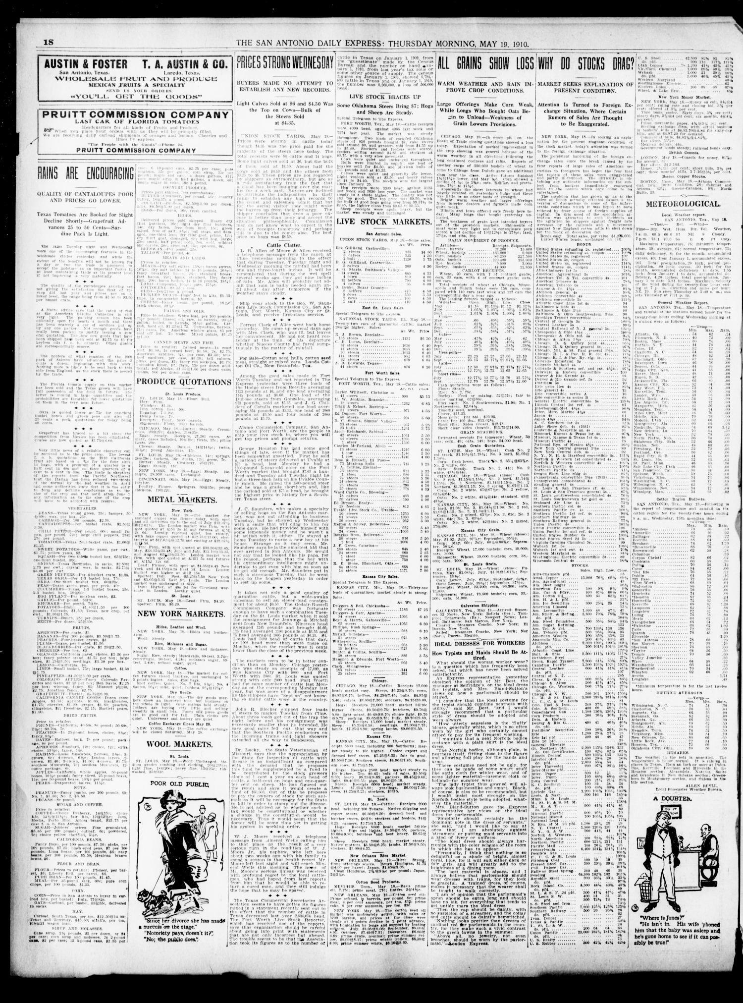 The Daily Express  (San Antonio, Tex ), Vol  45, No  139, Ed  1