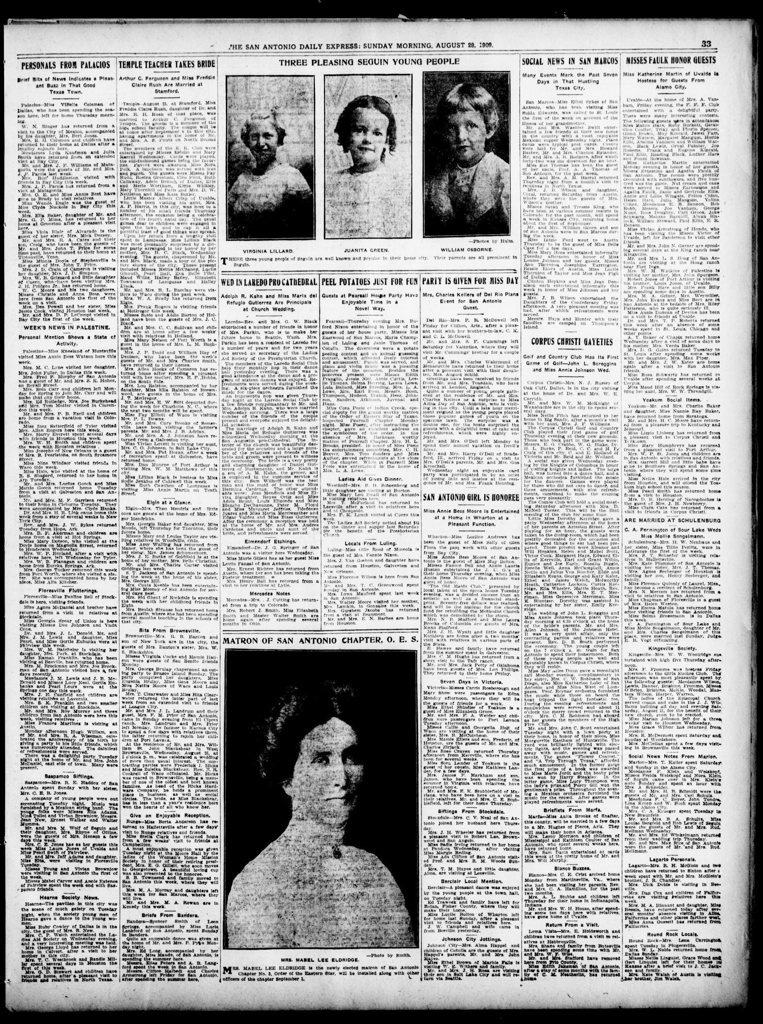 The Daily Express  (San Antonio, Tex ), Vol  44, No  241, Ed  1
