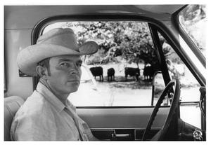 Primary view of object titled 'Alan Dunbar in a Pickup'.