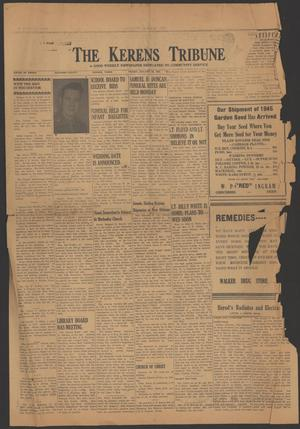 Primary view of object titled 'The Kerens Tribune (Kerens, Tex.), Ed. 1 Friday, January 26, 1945'.