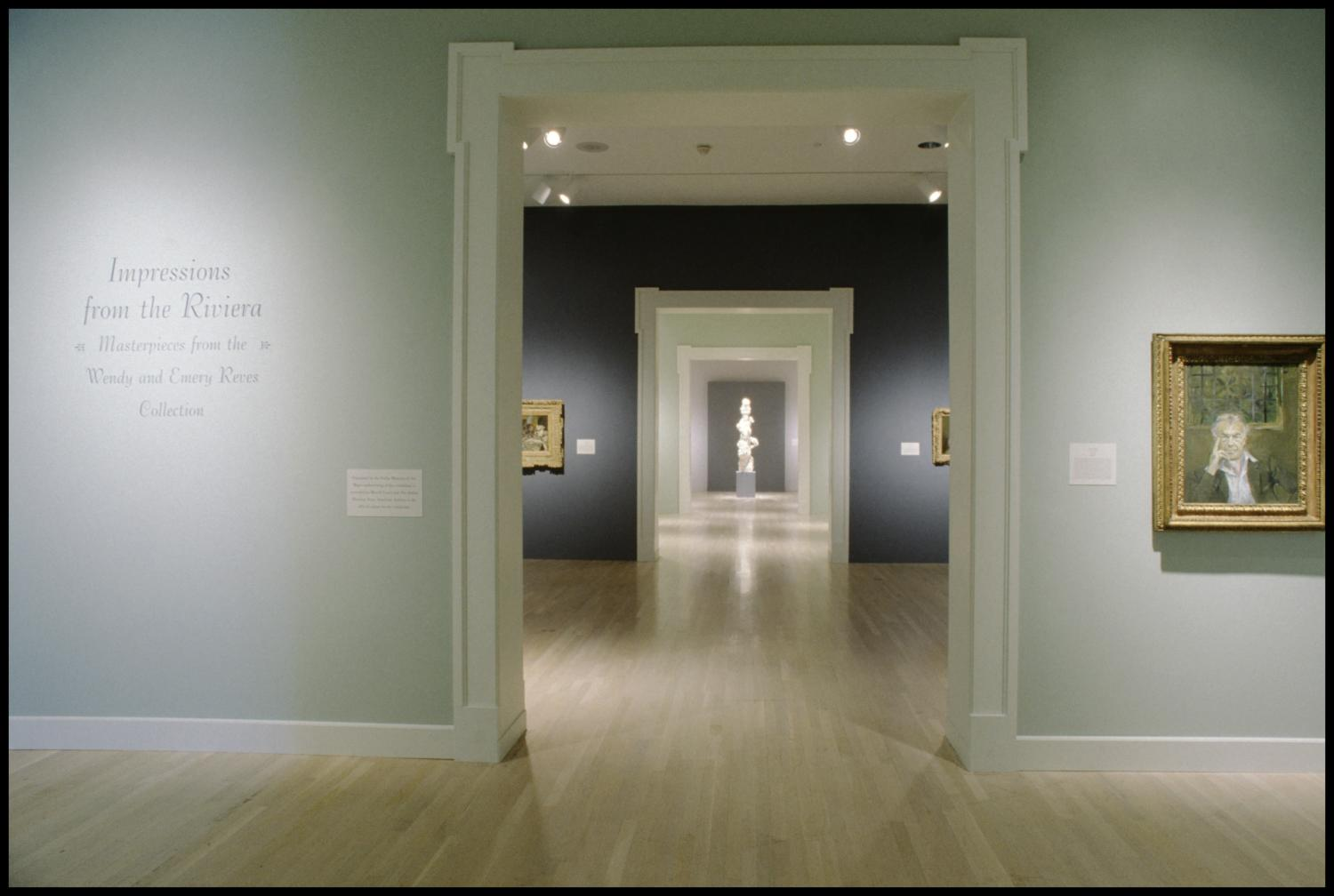 Impressions from the Riviera: Masterpieces from the Wendy and Emery Reves Collection [Exhibition Photographs]                                                                                                      [Sequence #]: 2 of 30