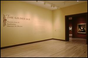 Primary view of object titled 'The Gilded Age: Treasures from the Smithsonian American Art Museum [Exhibition Photographs]'.