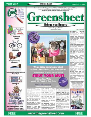 The Greensheet | Dallas's favorite weekly shopper