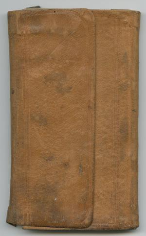 Primary view of [Journal of Henry Maxwell]