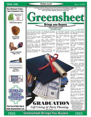 The Greensheet Dallas City by The Greensheet - Issuu