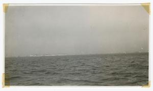 Primary view of object titled '[Ocean View of Manhattan Island]'.