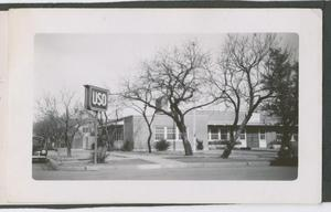 Primary view of object titled '[Second Street USO Club]'.