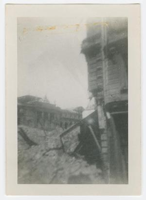 Primary view of object titled '[War Damaged Buildings]'.