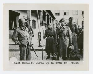 Primary view of object titled '[German General Surrenders]'.
