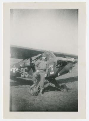 Primary view of object titled '[Glover by Airplane]'.
