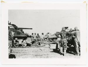 Primary view of object titled '[Changing Tank Tracks]'.