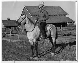 Primary view of object titled 'Cowboy on Horseback'.