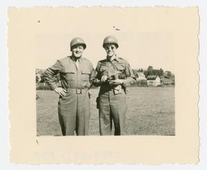 Primary view of object titled '[Chaplain and Soldier]'.