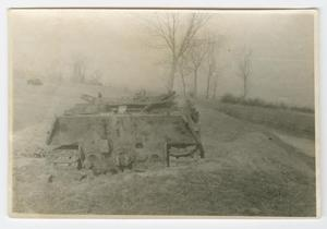 Primary view of [Dug-In German Tank]
