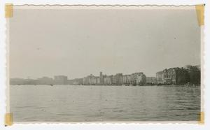 Primary view of object titled '[Waterfront of Geneva, Switzerland]'.