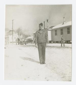 Primary view of object titled '[Clement in the Snow]'.
