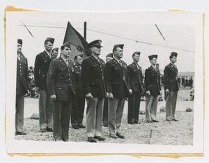 Primary view of object titled '[Major General Carlos Brewer at Camp Campbell Award Ceremony]'.