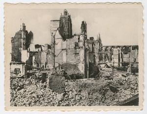 Primary view of object titled '[Ruins of Dunkirk, France]'.